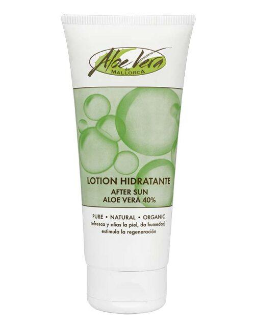 Aloe vera After Sun Lotion mit Bio Aloe vera