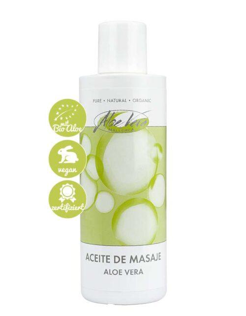 Massageöl mit Bio Aloe vera