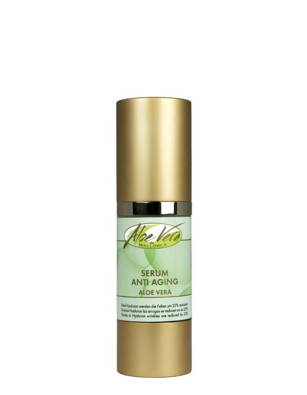 Aloe vera Anti Aging Serum mit Hyaluron und Vitaminkomplex