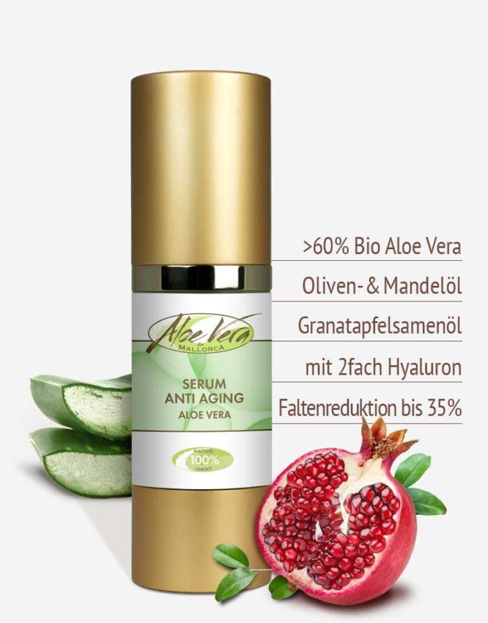 Bio Aloe vera Anti Aging Serum in Premium-Qualität