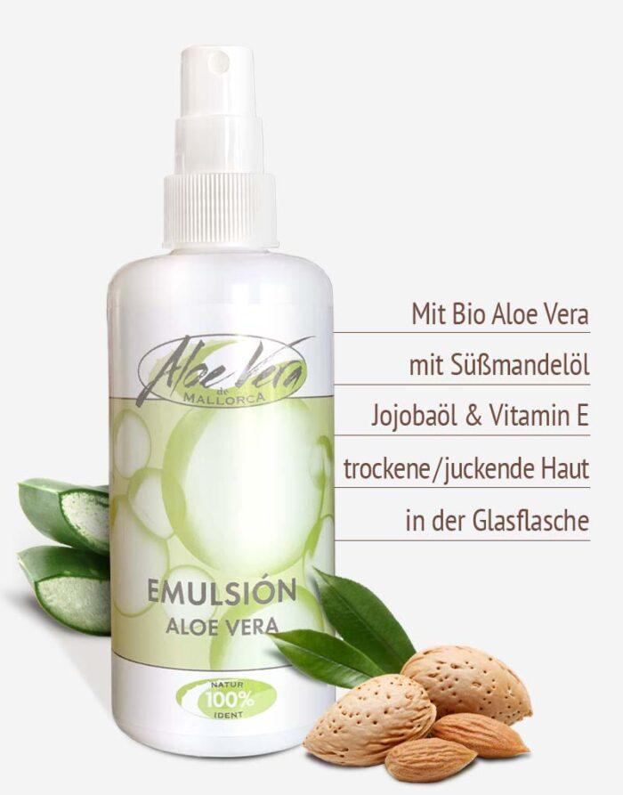 Bio Aloe vera Emulsion in Premium-Qualität