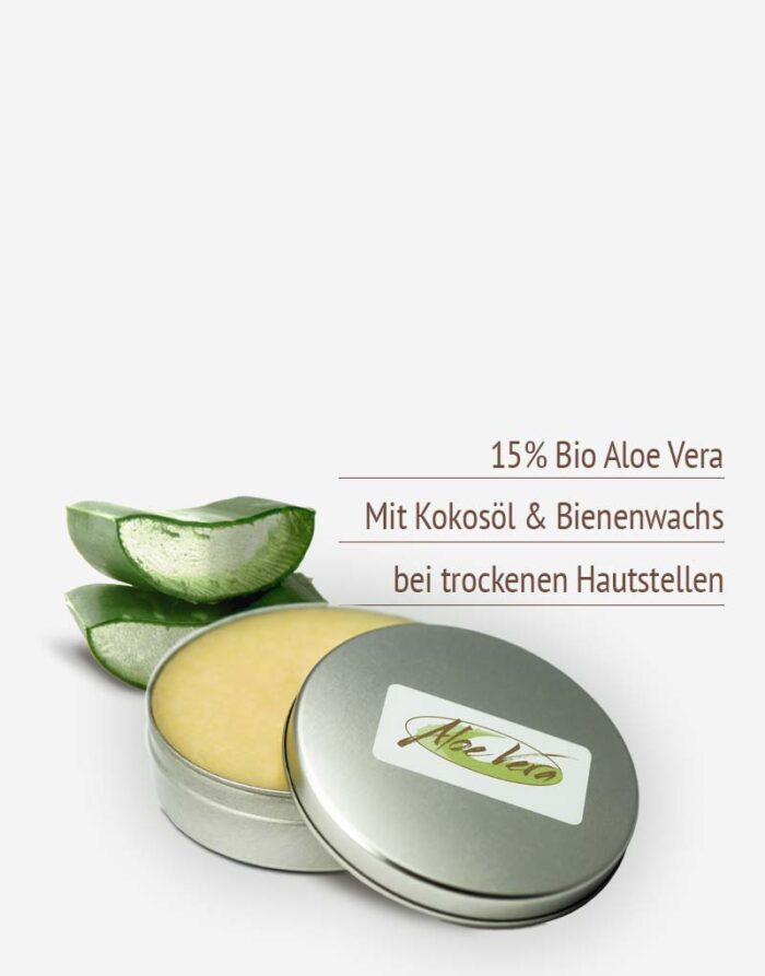 Aloe vera Körperbutter in Premium-Qualität