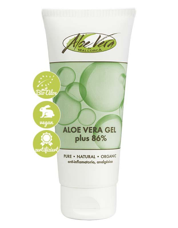 Gel mit 86% Bio Aloe vera Gel und Urea