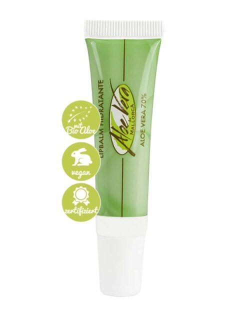 Lippenbalsam mit Bio Aloe vera