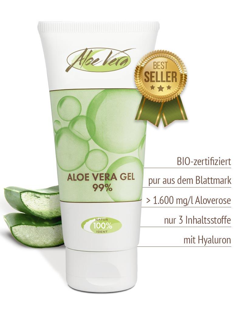 Bio Aloe vera Gel pur 99 %
