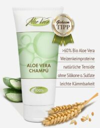 Bio Aloe vera Shampoo in Premium-Qualität