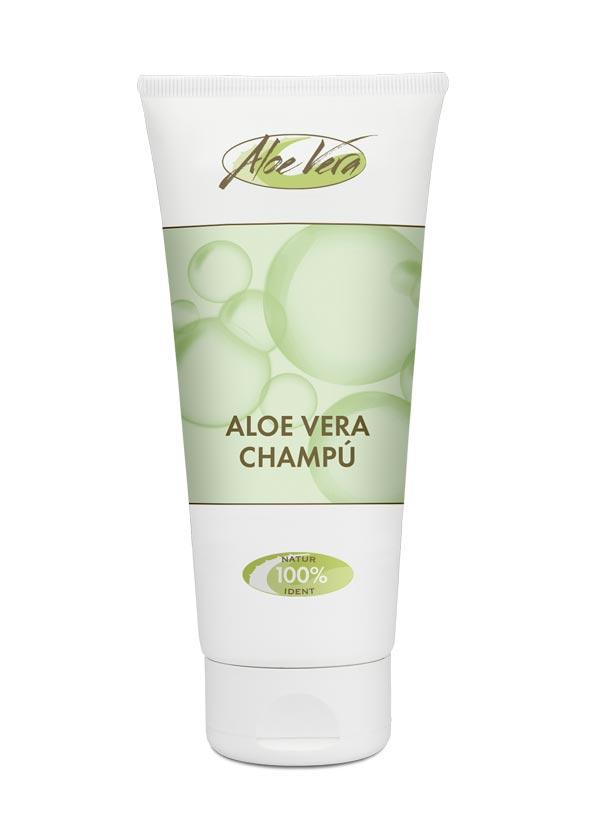 Aloe vera Shampoo mit Bio Aloe vera