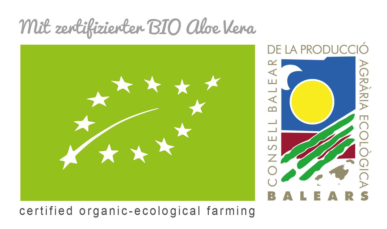 Bio zertifizierte Aloe vera Kosmetik