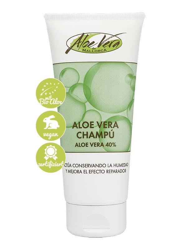 Shampoo mit Bio Aloe vera