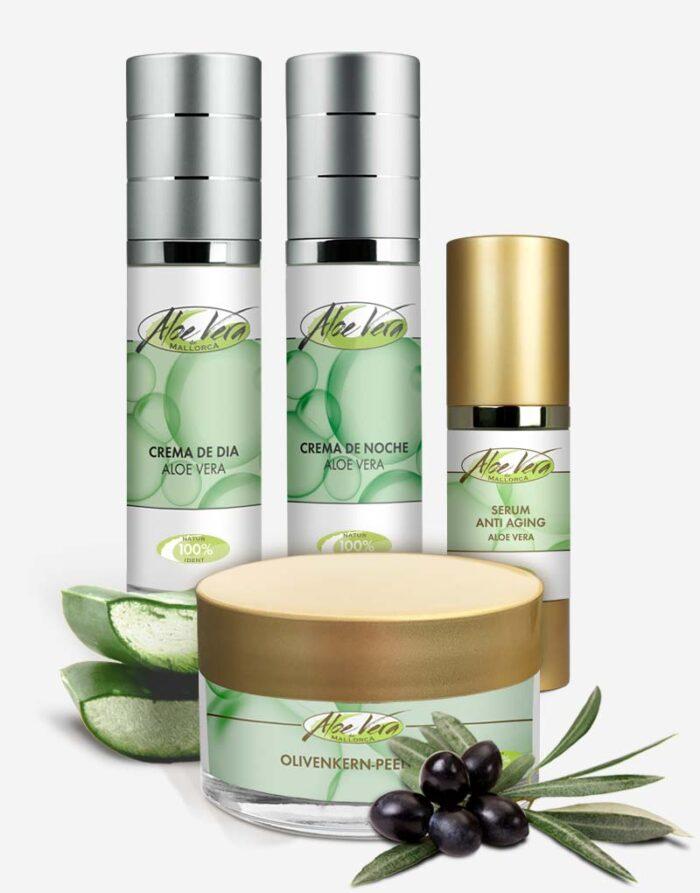 Anti Aging Set mit Bio Aloe vera
