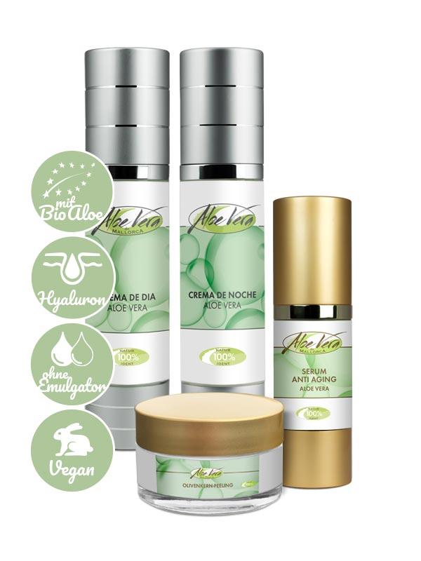 Produktvorteile Anti Aging Set mit Bio Aloe Vera