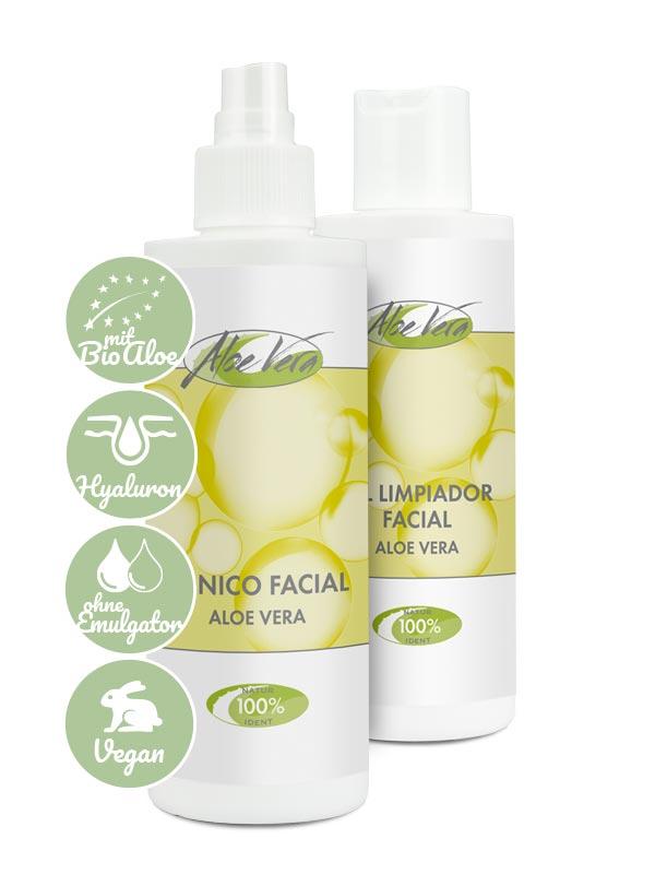 Produktvorteile Bio Aloe vera Cleaner Set