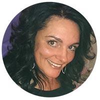 Veronika - behandelt ihre Kunden mit Aloe vera