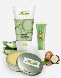 Aloe vera Pflege Set von Aloe vera de Mallorca