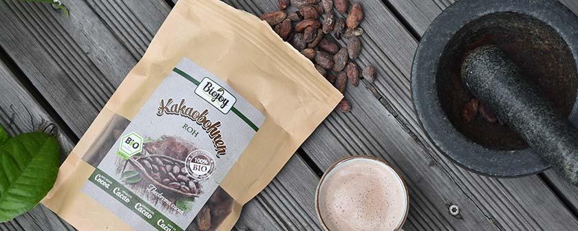 Reiner Kakao durch naturbelassene Kakaobohnen
