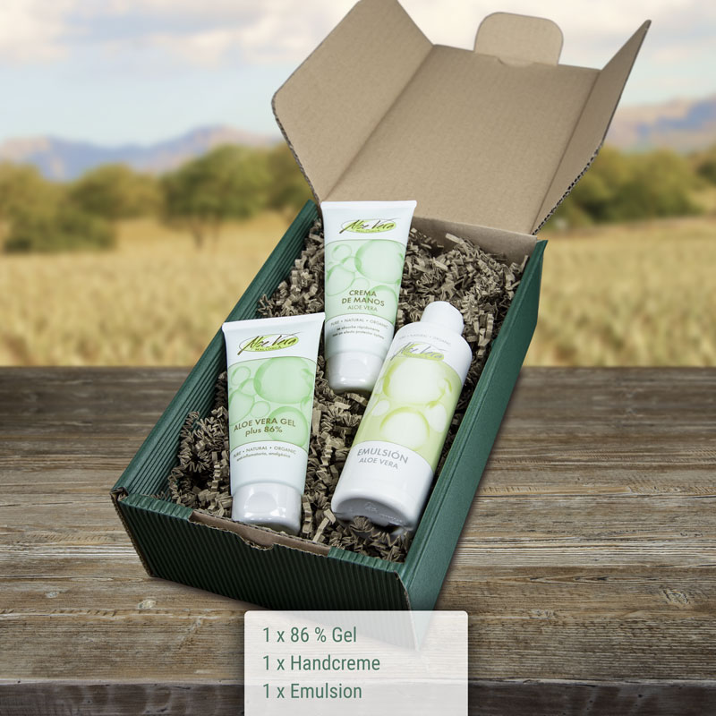 Geschenkbox Aloe Vera Repair Set