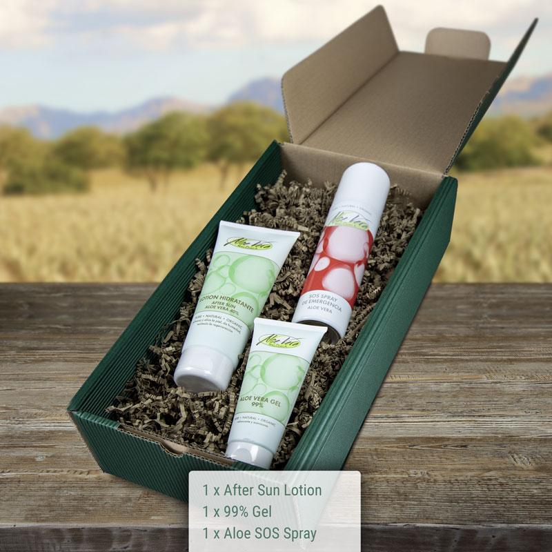 Geschenkbox Aloe Vera Sun Set