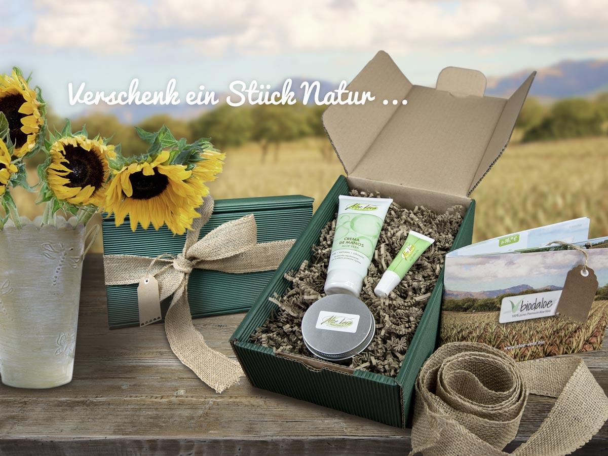 Geschenkbox Aloe Vera Pflege Set