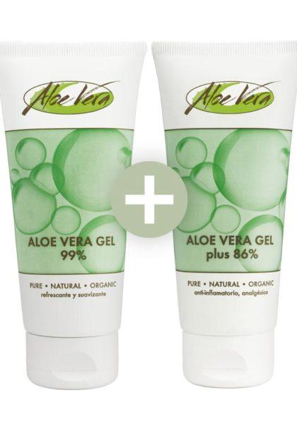 Aloe vera Gel 99% + Gel 86% mit Urea