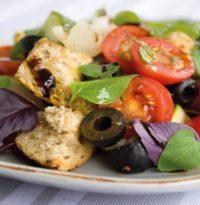 Leinöl zu Salat