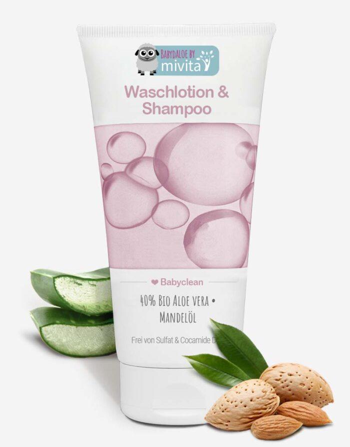Bio Aloe vera Baby Shampoo