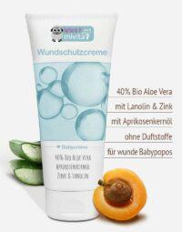 Bio Aloe vera Wundschutzcreme in Premium-Qualität