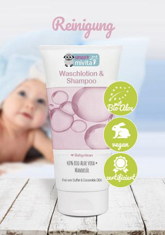 Aloe Vera Baby Shampoo und Waschlotion