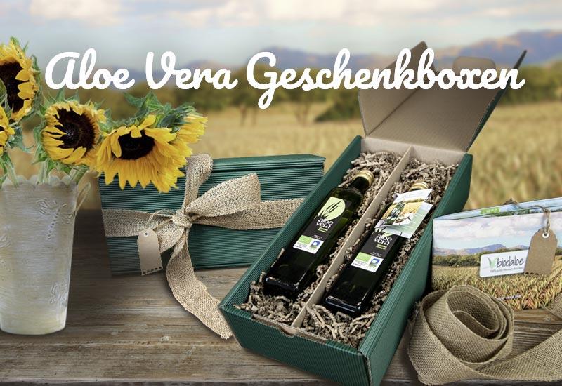Aloe Vera Geschenksets