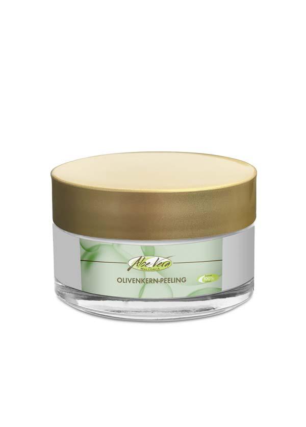 Olivenkern Peeling mit Aloe Vera