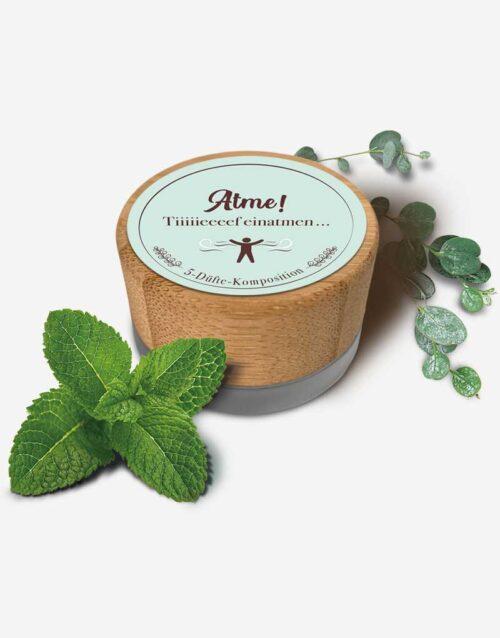 5 ml Bio Deocreme Atme! mit Pfefferminz und Eukalyptus